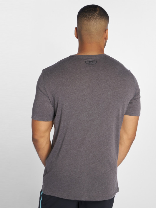 Under Armour Sport Shirts Sportstyle Left Chest grey