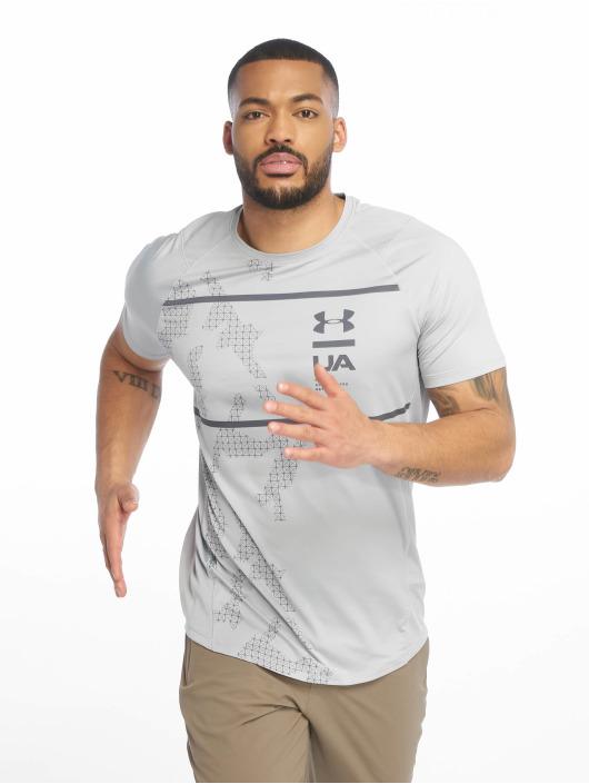 Under Armour Sport Shirts MK1 Q2 Printed grijs