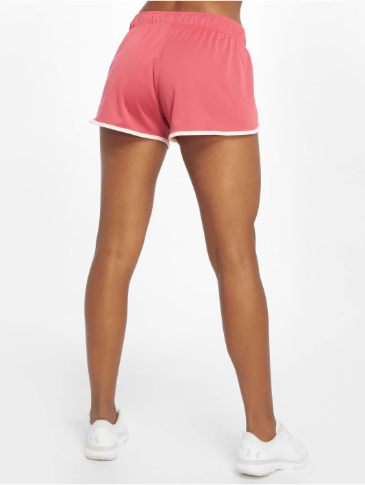 under armour damen sport shorts tech mesh 3 inch in pink. Black Bedroom Furniture Sets. Home Design Ideas
