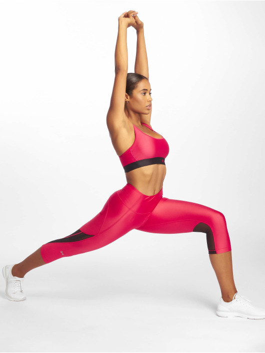 Under Armour Sportleggings UA HG Armour Capri Branded pink