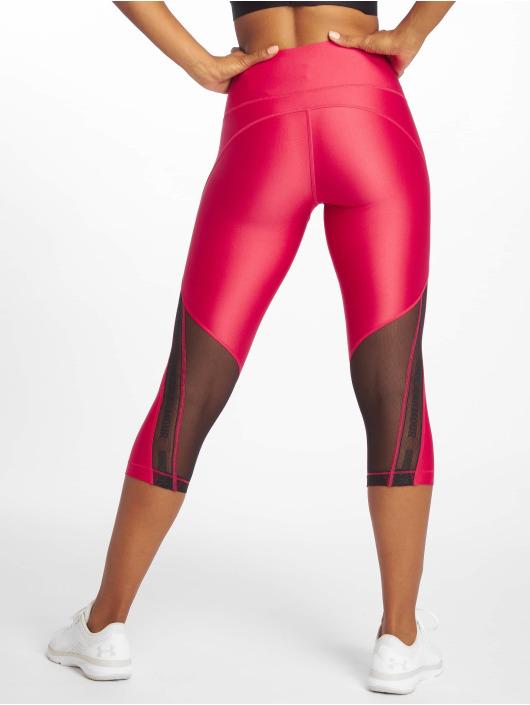 Under Armour Sportleggings UA HG Armour Capri Branded rosa