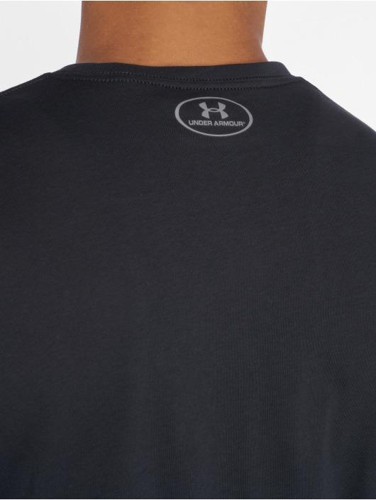 Under Armour Sportshirts Sportstyle Left Chest czarny