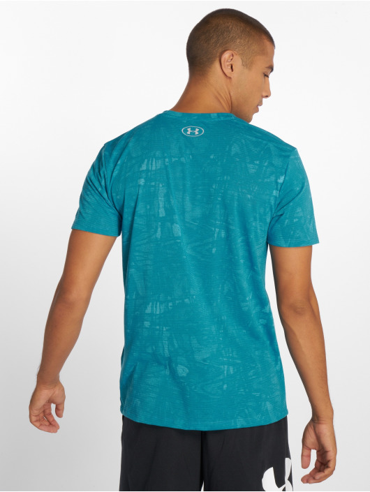 Under Armour Sportshirts Ua Streaker Printed niebieski