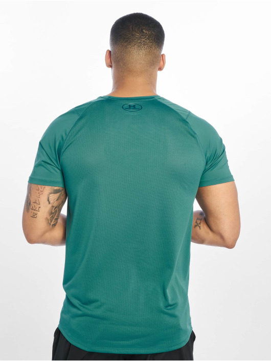 Under Armour Sportshirts MK1 Q2 Printed zielony