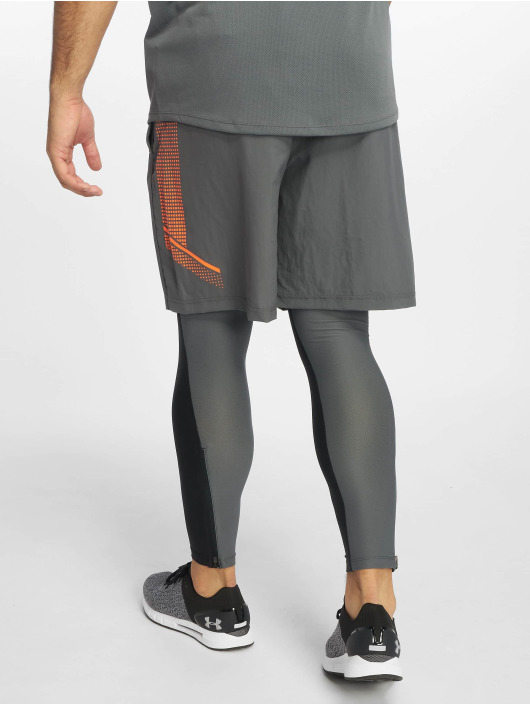 Under Armour Szorty Woven Graphic szary