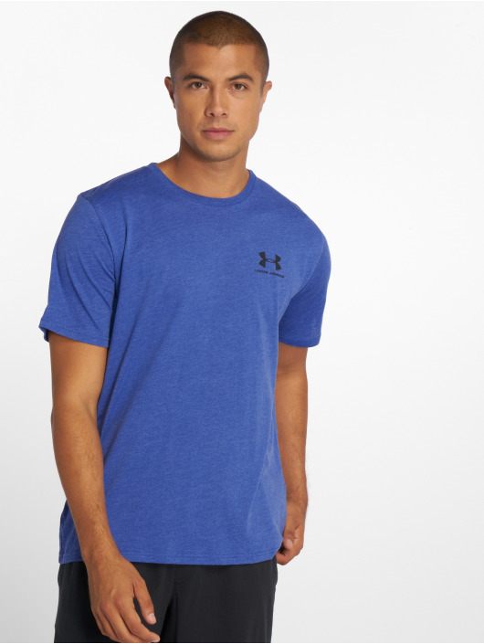 Under Armour T-shirt Sportstyle Left Chest blå