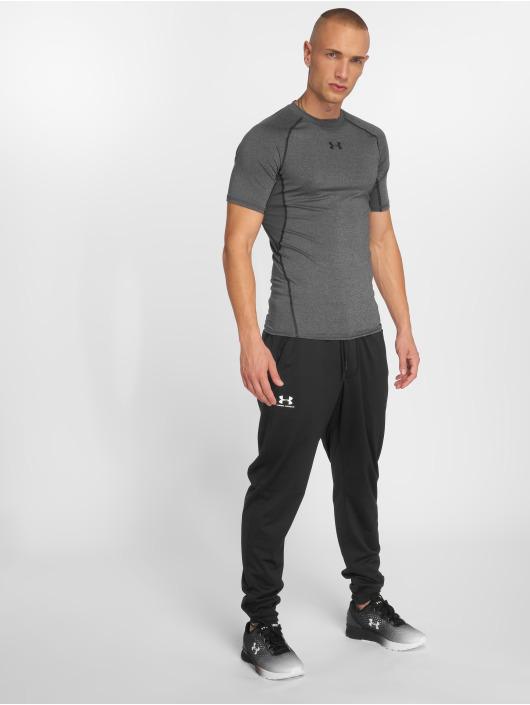 Under Armour T-Shirt Heatgear Compression grau