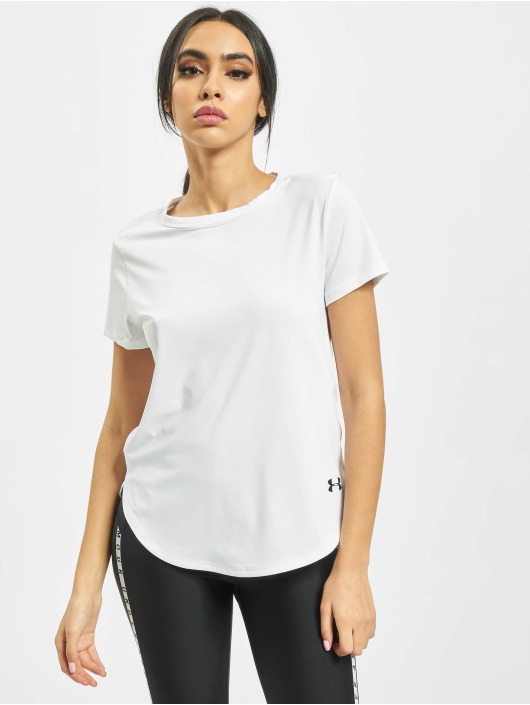 Under Armour T-Shirt UA Armour Sport Crossback weiß