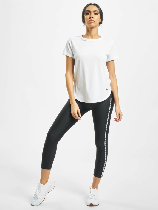 Under Armour T-Shirty UA Armour Sport Crossback bialy