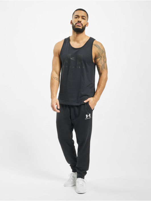 Under Armour Tank Tops Sportstyle Logo èierna