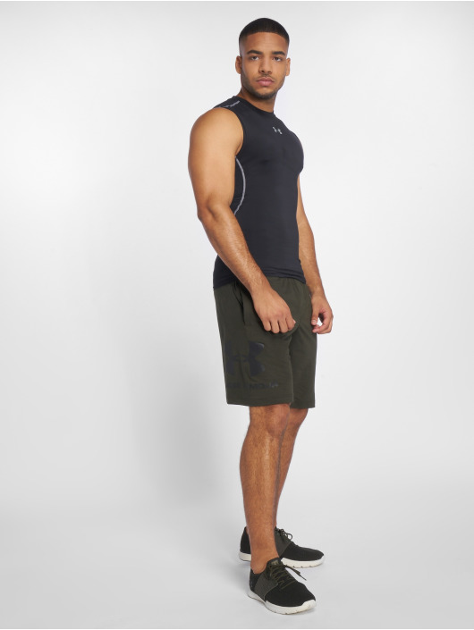 Under Armour Tank Tops Men's Ua Heatgear Armour Sleeveless Compression czarny