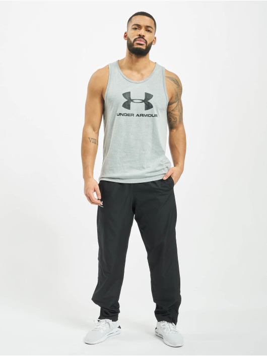 Under Armour Tank Tops Sportstyle Logo grey