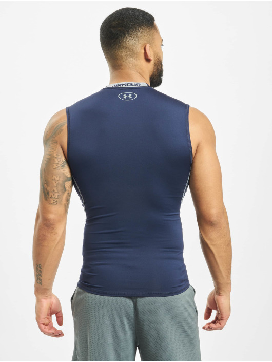 Under Armour Tank Tops UA Heatgear Armour niebieski
