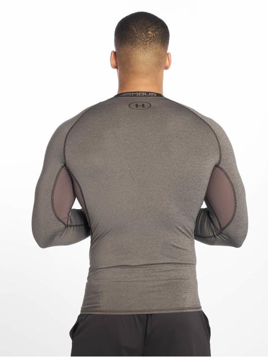 kuuluisa merkki erityinen osa aina suosittu Under Armour Heatgear Compression Longsleeve Carbon Heather/Black