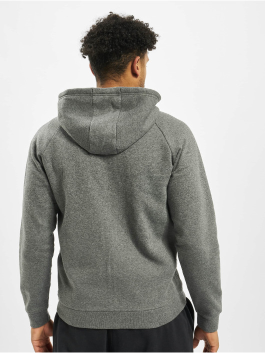 Under Armour Zip Hoodie Rival Fleece šedá