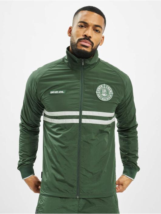 UNFAIR ATHLETICS Демисезонная куртка Light Carbon зеленый