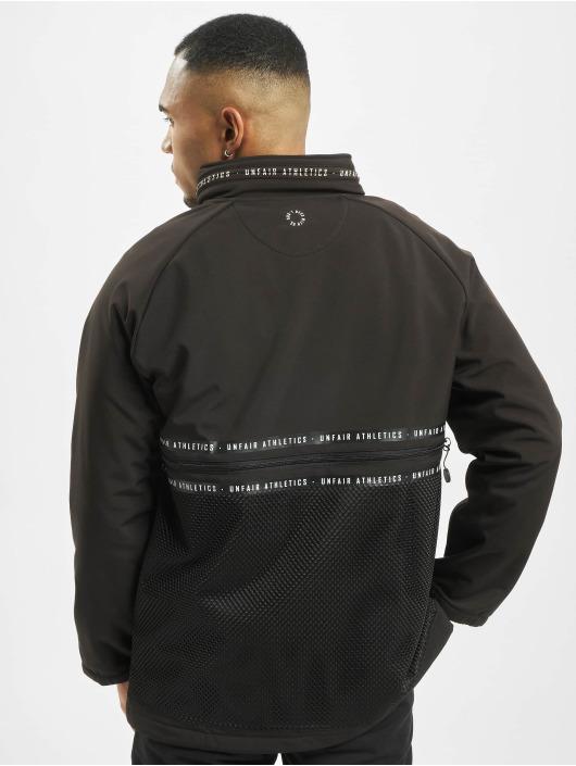 UNFAIR ATHLETICS Демисезонная куртка Softshell черный