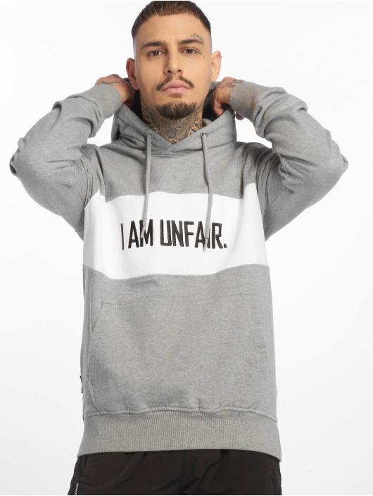 UNFAIR ATHLETICS Bluzy z kapturem I Am Unfair szary