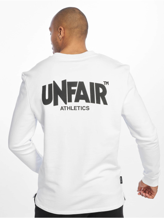 UNFAIR ATHLETICS Camiseta de manga larga Classic Label BP blanco