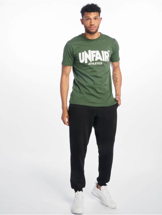 UNFAIR ATHLETICS Camiseta Classic Label '19 verde