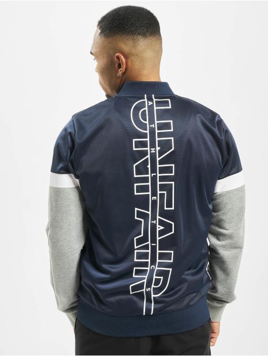 UNFAIR ATHLETICS Giacca Mezza Stagione Logo blu