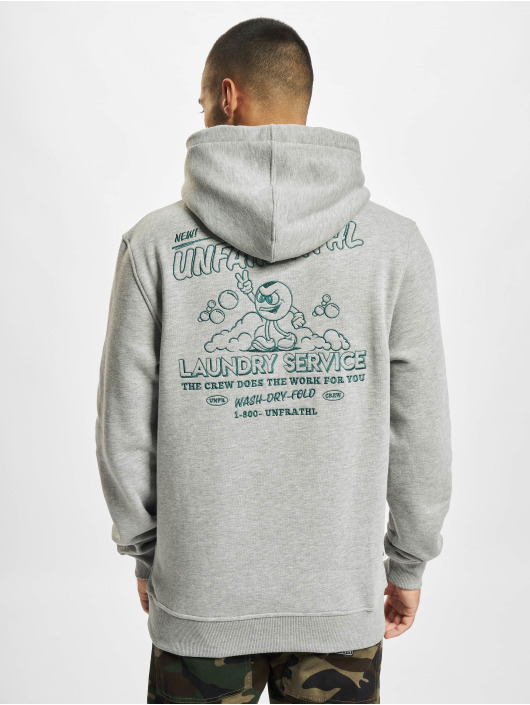 UNFAIR ATHLETICS Hoodie Laundry Service grey