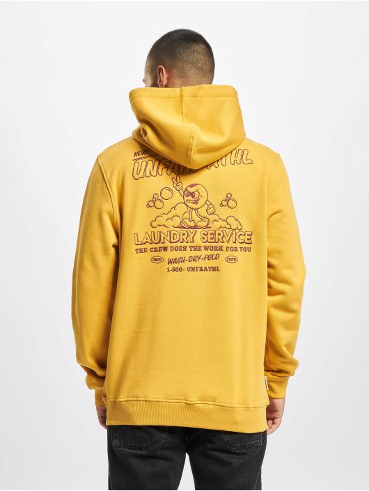 UNFAIR ATHLETICS Hoodie Laundry Service yellow