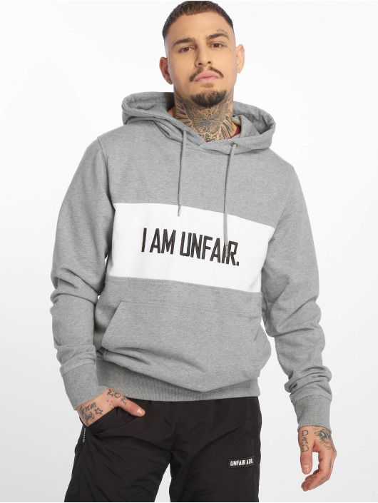 UNFAIR ATHLETICS Hoody I Am Unfair grau