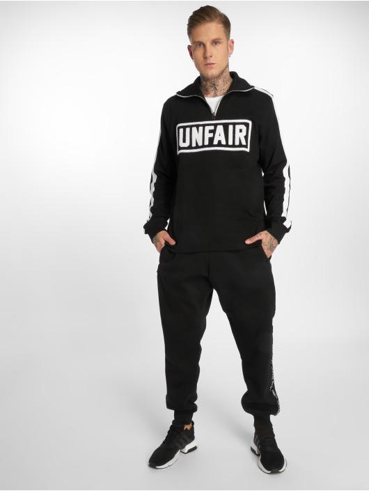 UNFAIR ATHLETICS Pullover UNFAIR Rib Halfzip black