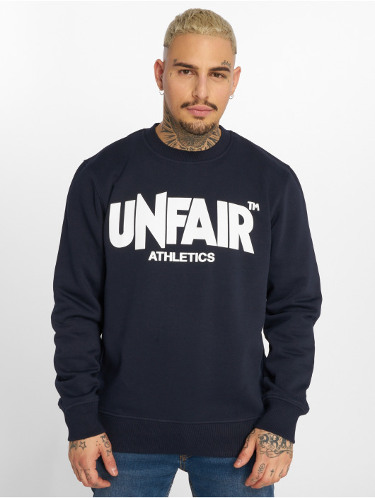 UNFAIR ATHLETICS Pullover Classic Label blau