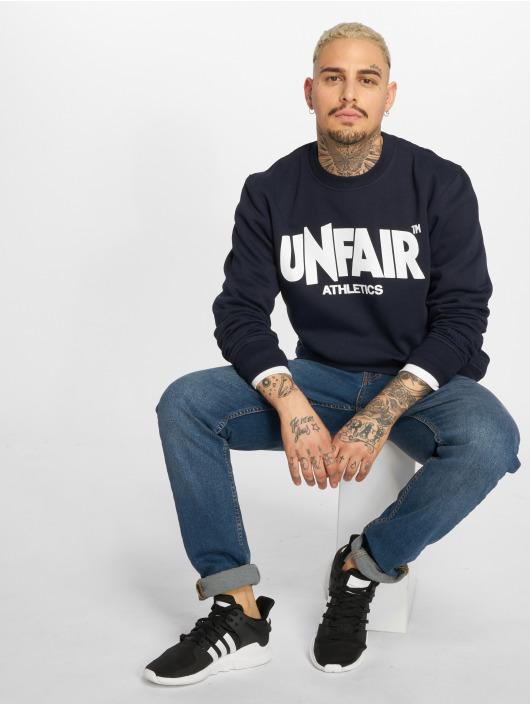 UNFAIR ATHLETICS Pullover Classic Label blue