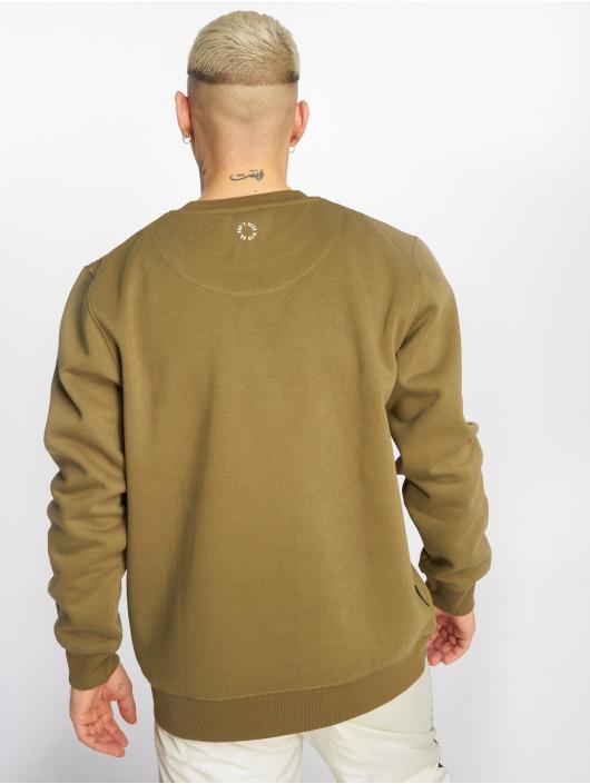UNFAIR ATHLETICS Pullover Classic Label Outline olive