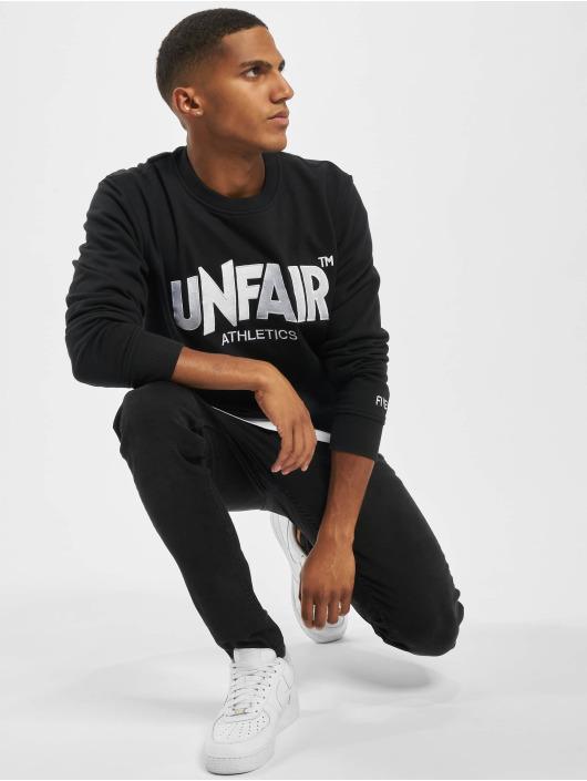 UNFAIR ATHLETICS Pullover Unfair Classic Label Tatami schwarz