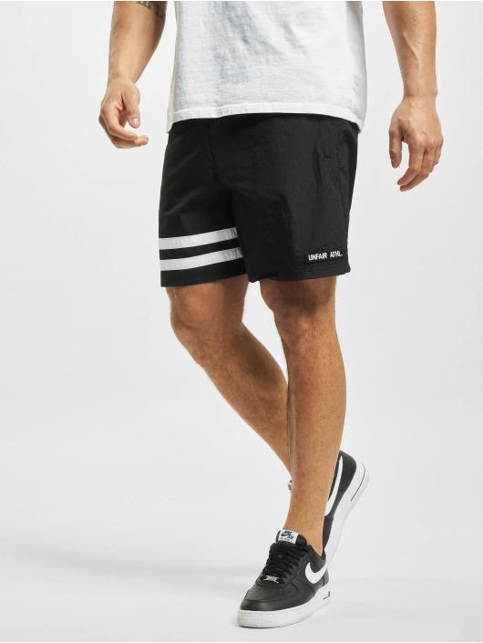 UNFAIR ATHLETICS shorts Dmwu Crushed zwart