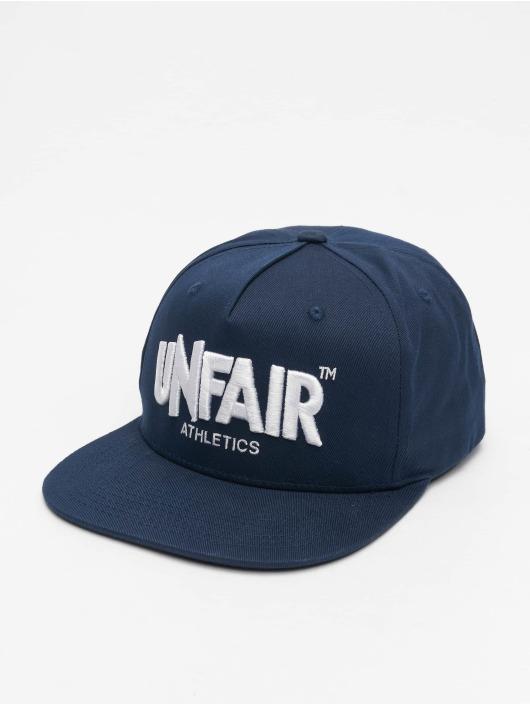 UNFAIR ATHLETICS Snapback Cap Classic Label blau