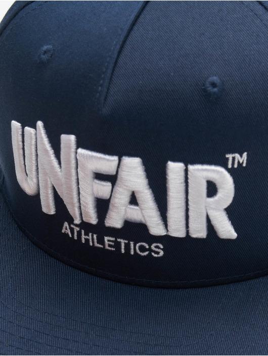 UNFAIR ATHLETICS Snapback Caps Classic Label blå