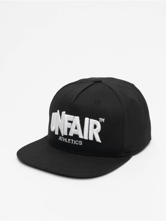 UNFAIR ATHLETICS Snapback Caps Classic Label svart