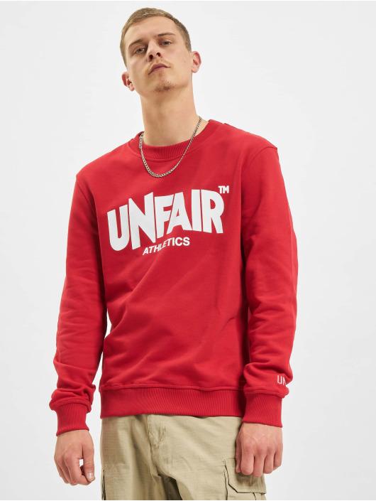 UNFAIR ATHLETICS Swetry Classic Label czerwony