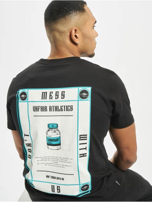 UNFAIR ATHLETICS T-paidat Supplement musta