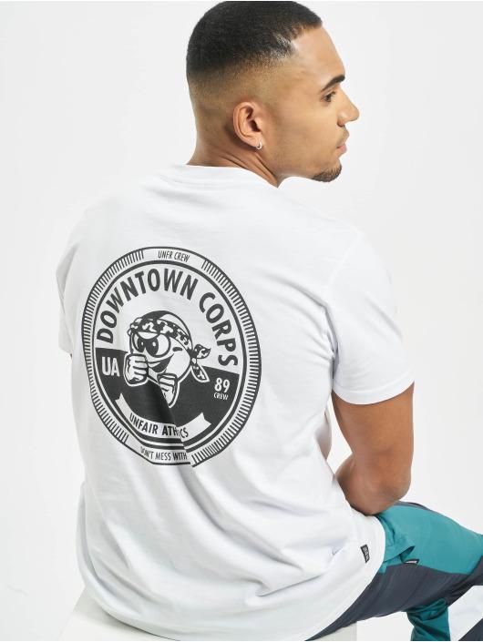 UNFAIR ATHLETICS T-shirt Downtown Corps bianco