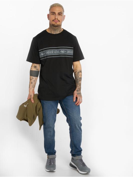 UNFAIR ATHLETICS T-Shirt Athl. Striped black