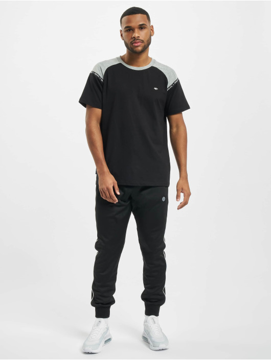 UNFAIR ATHLETICS T-Shirt Hash Panel black