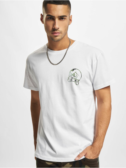UNFAIR ATHLETICS T-Shirt Punchingball Pixel Camo blanc