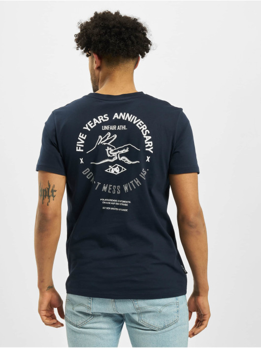 UNFAIR ATHLETICS T-Shirt Anniversary blue