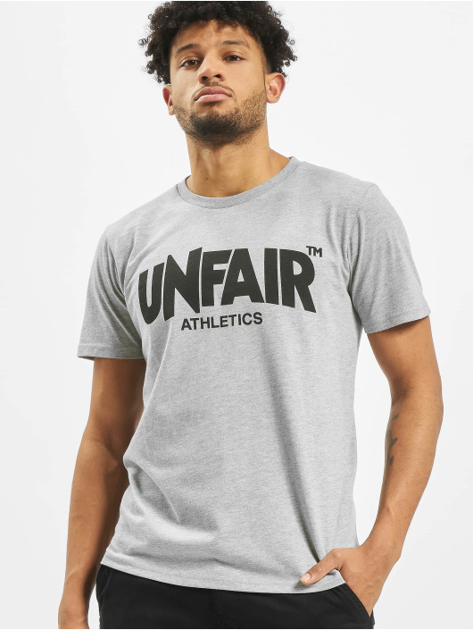 UNFAIR ATHLETICS T-Shirt Classic Label grau