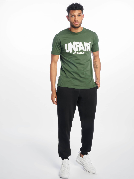 UNFAIR ATHLETICS T-Shirt Classic Label '19 green