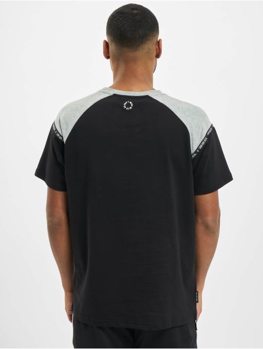 UNFAIR ATHLETICS T-Shirt Hash Panel noir