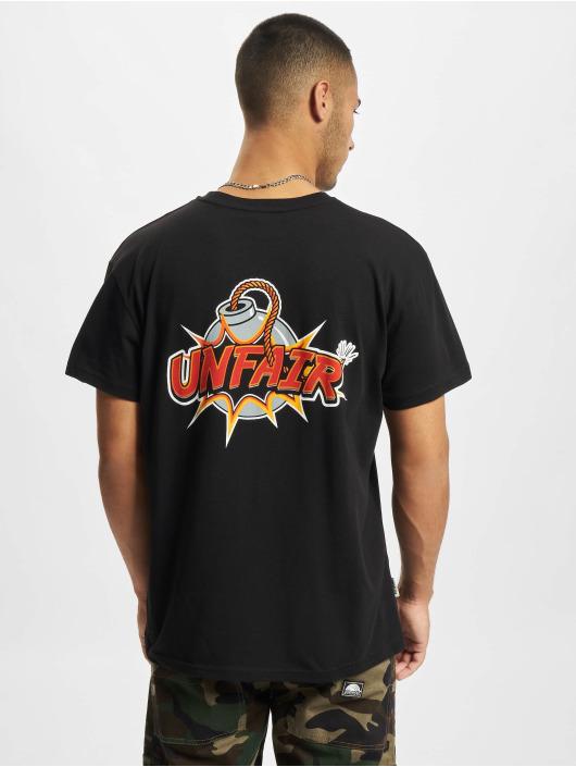 UNFAIR ATHLETICS T-Shirt Cartoon noir