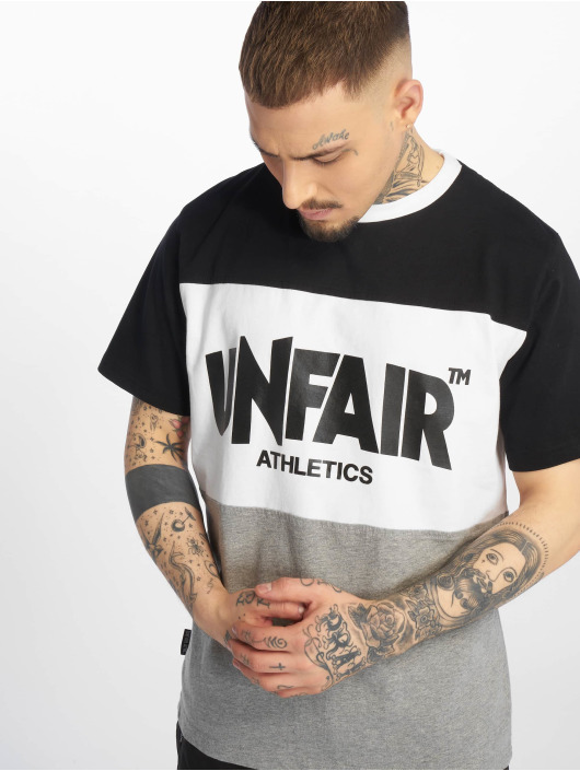 UNFAIR ATHLETICS T-Shirt Classic Panel schwarz