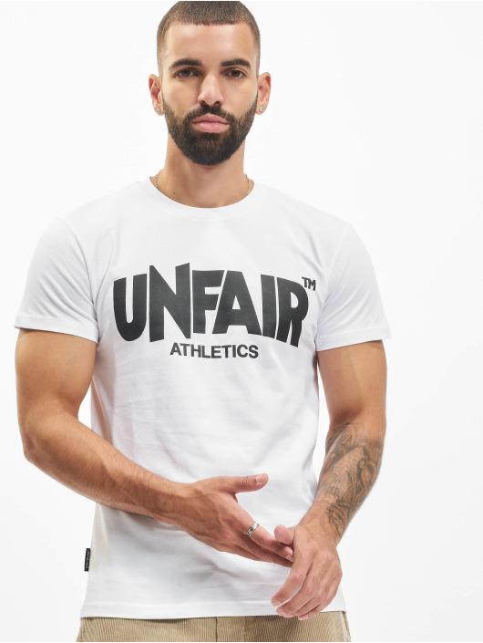 UNFAIR ATHLETICS T-Shirt Classic Label '19 weiß
